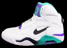 "Nike New Air Force 180 Mid ""Grape"" size 8.5-13 White Black Teal 537330-102 Rare"