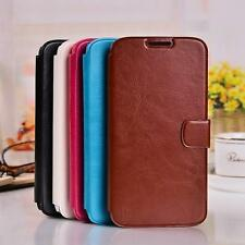 Magnetic Flip PU Leather Slot Wallet Cover Stand Case For Various Samsung Phone