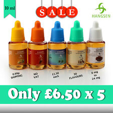 Genuine Hangsen liquid bundle deal **5 bottles** only £6.50
