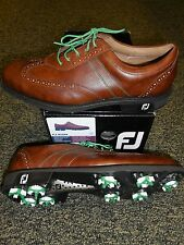 NEW FootJoy ICON Golf Shoes, ANTIQUE TAN, Style 52252, PICK A SIZE, $260