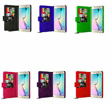 Flip Wallet Pu Leather Case Cover for Samsung Galaxy S6 / S6 Edge/ S7/ S7 Edge