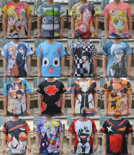Totoro Sword Art Online full Print T-shirt Cosplay Anime Man&Woman T-shirt Tee