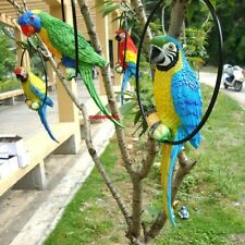 Fake Artificial Parrot Bird Realistic Home Decor Craft Parakeet Taxidermy Budgie