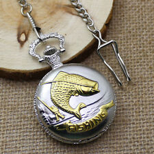 Variety New Fashion Pattern Style Pocket Watch Necklace Chain Men's Women Gifts