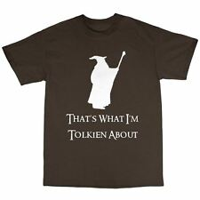 Gandalf T-Shirt 100% Cotton Lord Of The Rings Inspired The Hobbit Tolkien