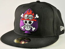 ONE PIECE NEW ERA ACE SKULL 59FIFTY FITTED CAP