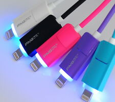2in1 LED PNG MICRO USB 8 PIN SYN Dati Charge Cavo ADATTA IPHONE 5 6 + Android