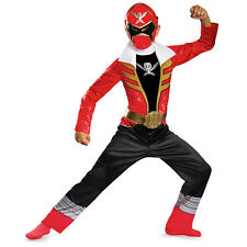 Power Rangers Red Ranger Super Megaforce Classic Child Costume Disguise 69638