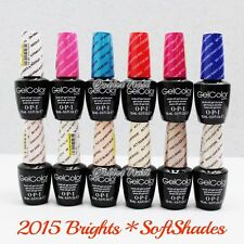 OPI Soak-Off GelColor BRIGHTS * SOFT SHADES Collection 2015 Gel Polish PICK ANY