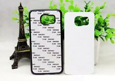 10 Black Sublimation Cases w/ Inserts for Samsung Galaxy S6