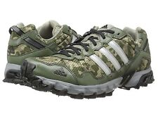 Men's Adidas Thrasher 1.1 TR  Camo Green Trail Running Outdoor Shoes C77661 8-13
