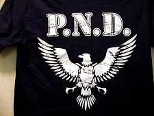 Pasadena Napalm Division New PND War Eagle Black T-Shirt One-Sided P.N.D. Texas