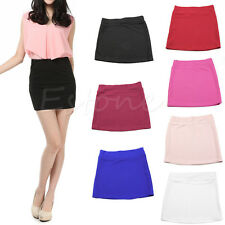 Women's Sexy Fashion Mini Skirt Slim Seamless Stretch Tight Short Fitted Hot Fit