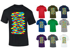 Mens Another Brick In The Wall Lego Funny T-shirt NEW S-XXL