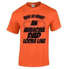 This Is What An Awesome Dad Looks Like Fathers Day Funny Mens T Shirt