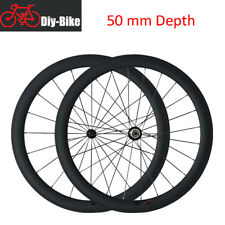 Light weight 700c 50mm Carbon Fiber road bike Wheels bicycle Carbon Wheelset