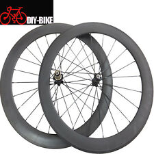 50mm clincher Tubular carbon road bicycle wheels 700c carbon cycling wheelset