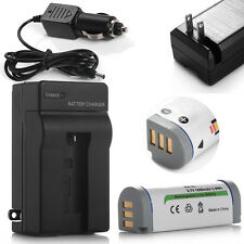 NB-9L Battery +Charger For Canon PowerShot SD4500 IS ELPH 510 520 530 HS IXY 50S