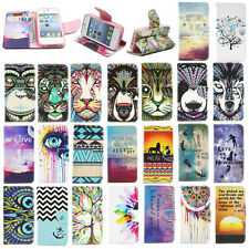 Hot Wallet Card Holder Flip Leather Case Silicone Stand Cover Case Cell Phone