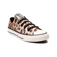 NEW Converse All Star Lo Sneaker Black LEOPARD Boys Girl Youth Tween Kids Shoes