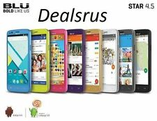 Blu Star 4.5 Design Edition S451U 4GB QuadBand Unlocked Dual Sim Smartphone