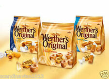 Werther's Original Storck Chocolate Soft Toffee Candy in Bag