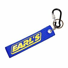 EARL'S Key Strap, Keychain Key Ring With Aluminum Carabiner D-Ring