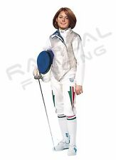 PBT Electric Foil Fencing Jacket Lame Stainless Steel WOMEN'S Assorted Sizes NEW