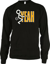 F**k Yeah Stick Figure Screw Hell Yes Party Do It Beer America Sex Men's Thermal