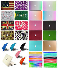 """MacBook Rubberized Hard Case Matte+Keyboard Cover For Mac PRO13""""/15""""Air11""""13inch"""