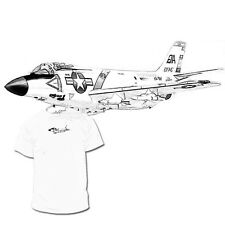 F 3 Demon Drawing T shirt Navy Marines Army Weapons Drawings R Available