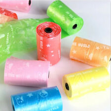 10 Rolls Biodegradable Pet Dog Garbage Waste Poop Bags with printing Pet Product