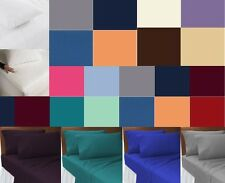 Double Small 4FT Polycotton Fitted Sheets,4FT mattress Protectors & Pillow Cases