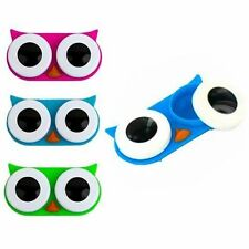 NEW Kikkerland Owl & Dog Contact Lens Case, Assorted Colors,