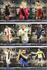 PANINI ADRENALYN XL ROAD TO EURO 2016  LIMITED EDITION & GAME CHANGER CARDS