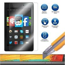 1X Tempered Glass Screen Protector Guard Shield Amazon Kindle Fire HD 6 & 7 2014