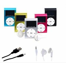 Mini Clip On Mp3 Player Gym Music Portable Shuffle Tiny Black Purple Red Pink
