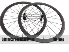 Only 1110g 23mm width 38mm tubualr 700C carbon road bike wheels carbon wheelset