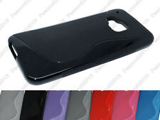 Multi Color S-Types TPU Silicone CASE Cover For HTC One M9 HTC One Hima