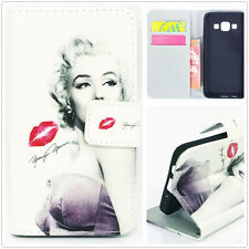 Marilyn Monroe Stand Wallet Case For Samsung S3 S4 S5 S6 Edge A3 A5 LG L70 L90
