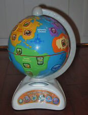 VTech Spin and Learn Adventure Globe For 3 - 6  Year Olds Kid Boy Girl VGUC
