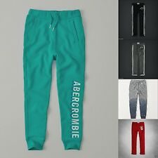ABERCROMBIE kids BOYS SWEATPANTS NWT green gray BLUE Navy NEW