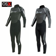 Osprey OSX Mens 2.5mm Full Length Wetsuit Bodyboard Kayak Diving Jetski Snorkel