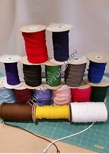 POLYESTER CORD 4mm CHOICE OF COLOURS AND LENGTHS AVAILABLE-HOODIES. PANTS ETC