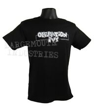 Operation Ivy OLD School SKA Punk Bar Logo T-Shirt Adult Men's Black