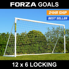 12' x 6' FORZA Football Goal - The Ultimate Football Goal Post **Free Delivery*