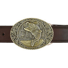 Large Mouth Bass Buckle and Belt OBM106B IMC-Retail