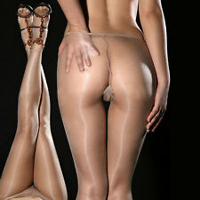 New Women Girls Sexy Sheer Oil Shiny Glossy Classic Pantyhose Tights Stockings
