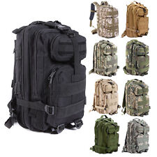 Outdoor Sport Military Tactical Backpack Camping Hiking Trekking Rucksack Bag