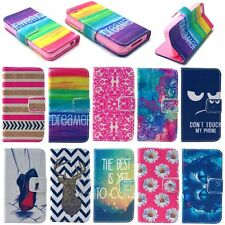 For Apple iPhone Fashion Patterned Wallet Cute Hard Back Skin Case Cover
